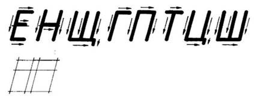 номер госта шрифты черчение