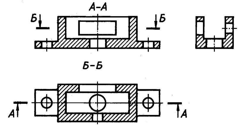 Как сделать разрез детали 938